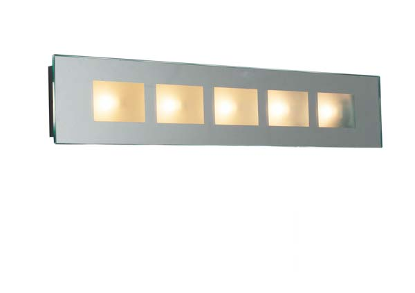 Latitude Mirror Wall Light Low Voltage Complete With Bevelled Edge Ip44 Lighting And